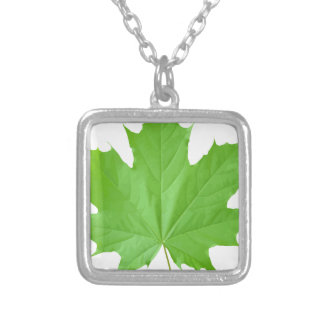 Maple Leaf Personalized Necklace