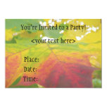 Maple Leaf Party Invitation