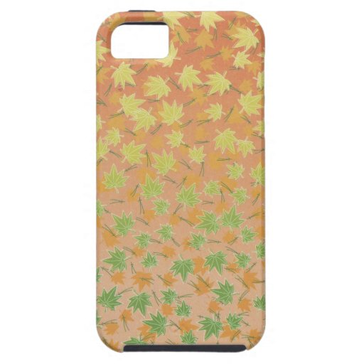 Maple Leaf Pattern iPhone 5 Case