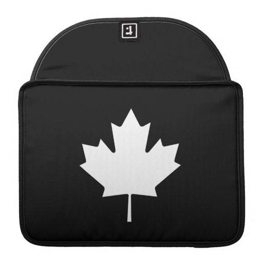 Maple Leaf Pictogram MacBook Pro Sleeve