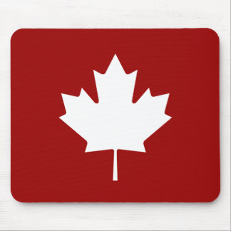 Maple Leaf Pictogram Mousepad