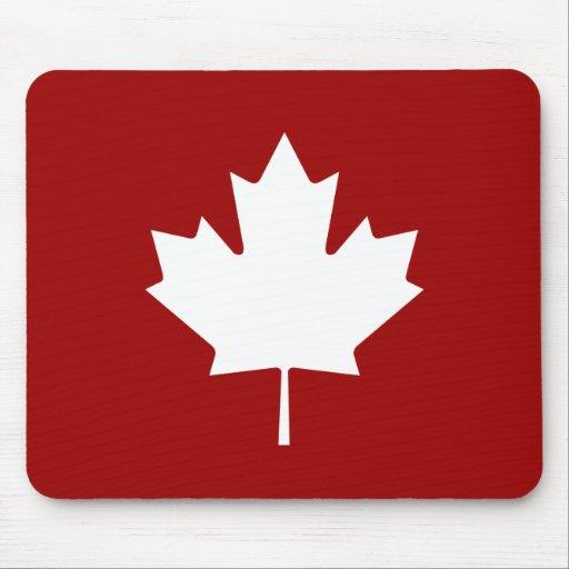 Maple Leaf Pictogram Mousepad
