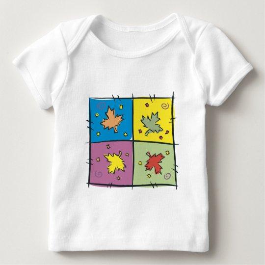 Maple Leaf Pop Art Baby T-Shirt