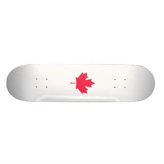 Maple leaf skateboard decks