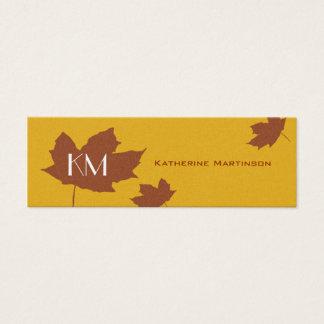 Maple Leaf Skinny Card