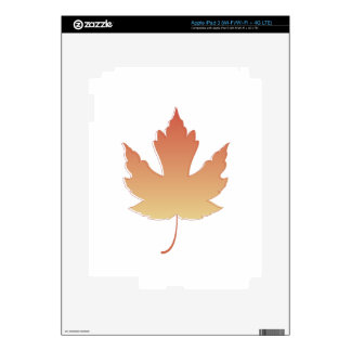 Maple Leaf Skins For iPad 3