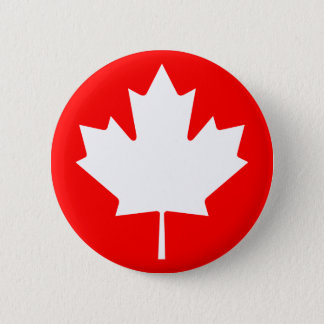 Maple Leaf Symbol Button