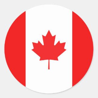Maple Leaf Symbol Classic Round Sticker
