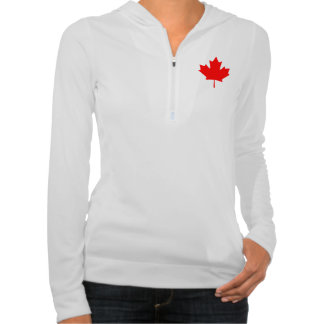 Maple Leaf symbol hoodie
