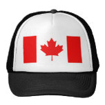 Maple Leaf Symbol Mesh Hats
