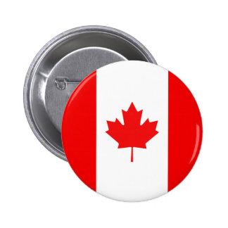 Maple Leaf Symbol Pinback Button
