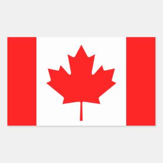 Maple Leaf Symbol Rectangular Sticker