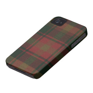 Maple Leaf Tartan iPhone 4/4S BARELY THERE Case Case-Mate iPhone 4 Cases