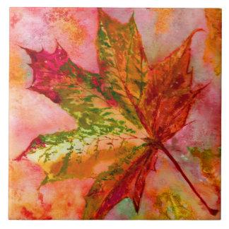 Maple Leaf Tile. Ceramic Tile