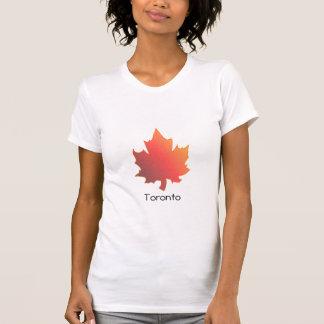 Maple leaf , Toronto, woman's t -shirt Tshirts