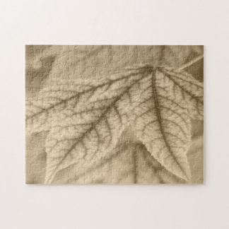 Maple Leaf Vein Patterns Jigsaw Puzzle
