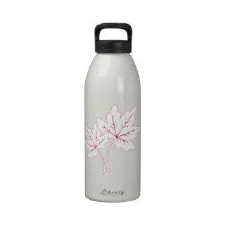 Maple Leaf Water Bottles