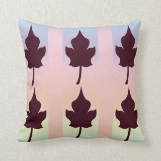 Maple Leaf with Rainbow - Pillow