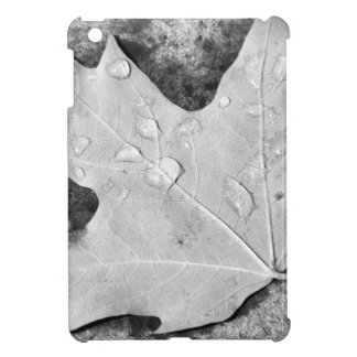 Maple Leaf with Water Droplets iPad Mini Covers