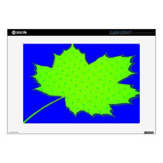 Maple Leaf Zazzle Skin Laptop Decals
