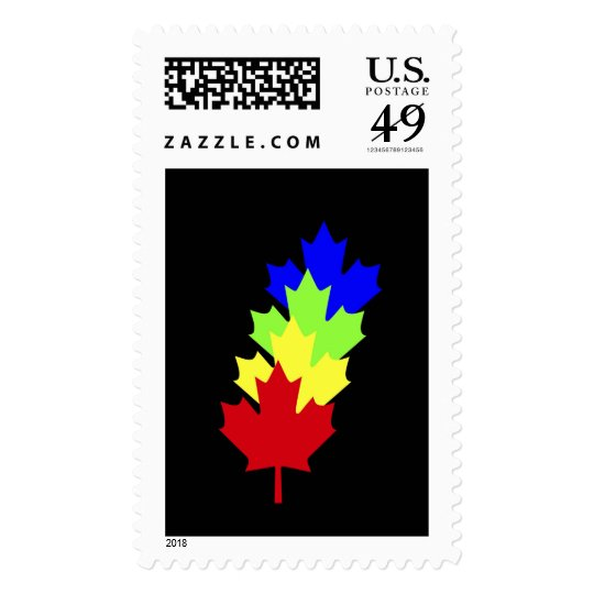 Maple Leaves - Canada Postage