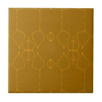 Maple leaves ceramic tile