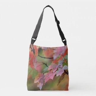 Maple leaves crossbody bag
