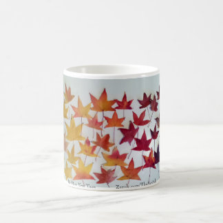 Maple Leaves Fall Foliage mug