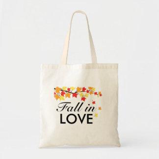 Maple Leaves Fall in Love Autumn Grocery Bag
