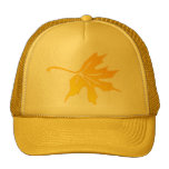 maple leaves mesh hats
