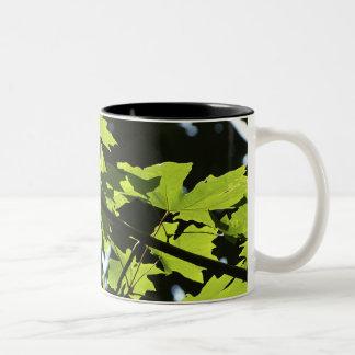 Maple Leaves Mug