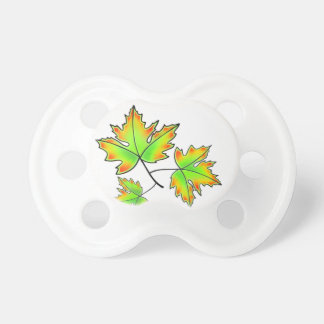 Maple Leaves Pacifier