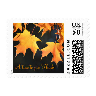 Maple Leaves Postage Stamps