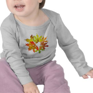 maple leaves shirt