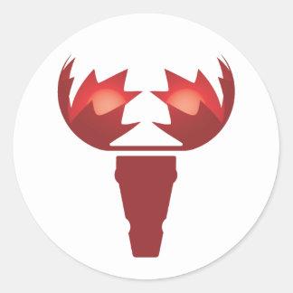 Maple Moose Sticker
