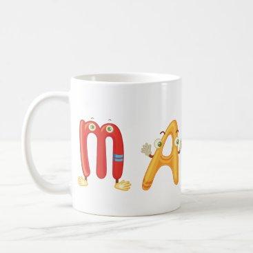 Beach Themed Maple Mug