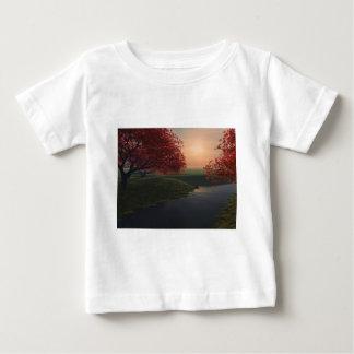 maple pond ..beautiful landscape baby T-Shirt
