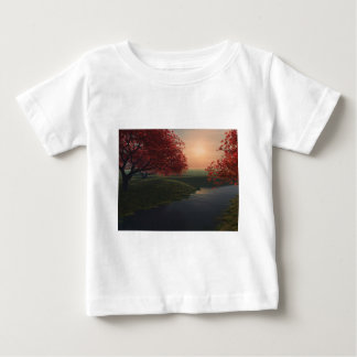 maple pond ..beautiful landscape t shirts