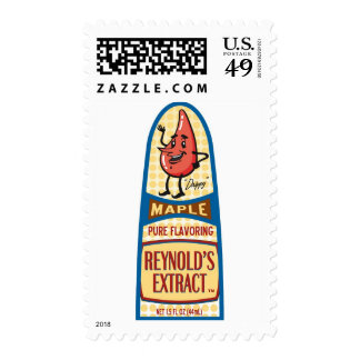 Maple Postage Stamp