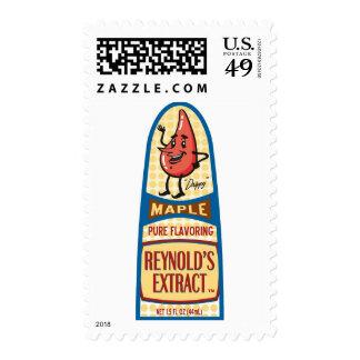 Maple Postage Stamp