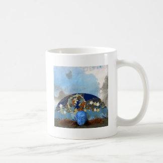 Maple Seed Meditation - collage Coffee Mug