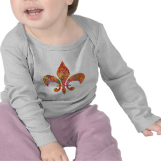 Maple Star Designer Fleur-de-Lis Tshirt