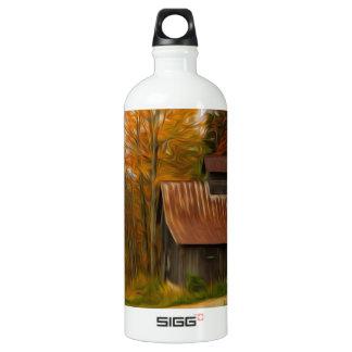 Maple Sugar Shack in  Vermont Fall SIGG Traveler 1.0L Water Bottle