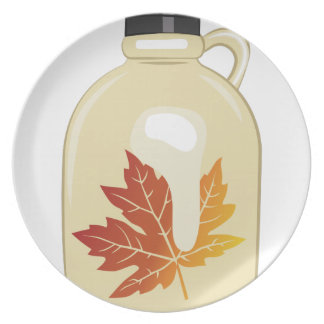 Maple Syrup Dinner Plate