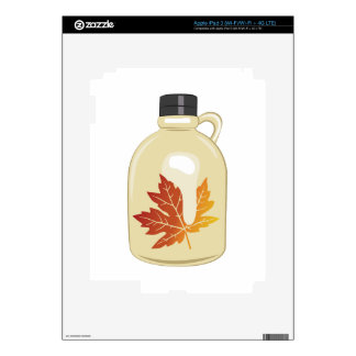 Maple Syrup iPad 3 Decals