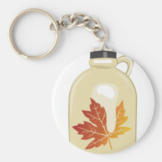 Maple Syrup Keychain