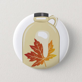 Maple Syrup Pinback Button