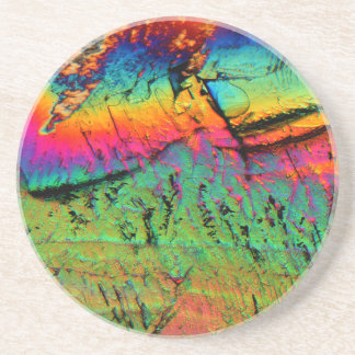 maple syrup under a microscope drink coasters
