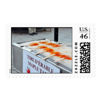 Maple Taffy Tire D Erable Quebec Canada Stamps