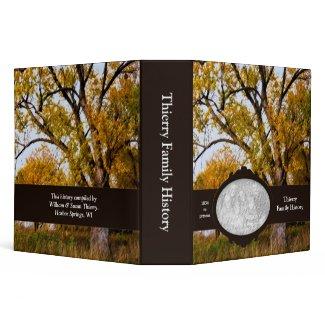 """Maple Tree Family History 2"""" Custom Photo Binder"""